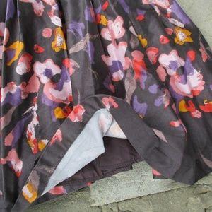 H&M Dresses - H&M Gray Pink Purple Floral Sundress sz 8